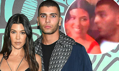Kourtney Kardashian gets 'cozy with ex Bendjima