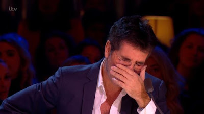 Simon Cowell breaks down in tears live on Celebrity X Factor in heartbreaking moment