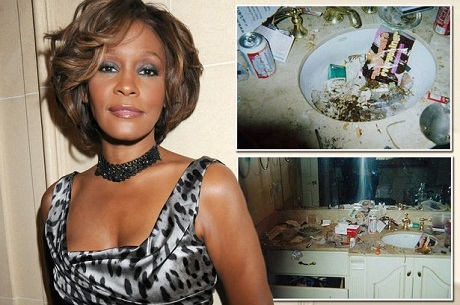 Whitney Houston's secret sadness and life she hid from the public