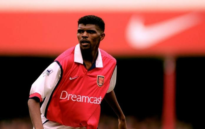 Arsenal celebrates Kanu's signing 21 years ago
