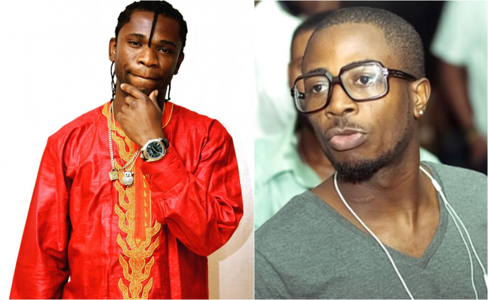 Speed Darlington threatens to tie Tunde Ednut's future and get him deported for claiming he made him popular. Nigerians react (videos)