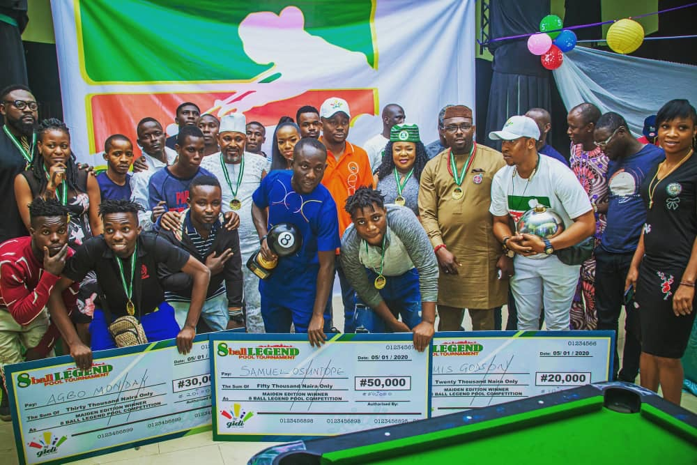 Check out memorable moments from the Maiden Edition of the 8-ball Legend Pool Tournament