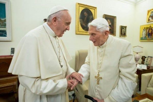 Pope Benedict Tells Pope Francis