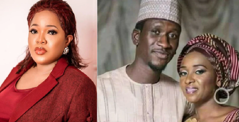 Toyin Abraham reacts to Maryam Sanda's death sentence