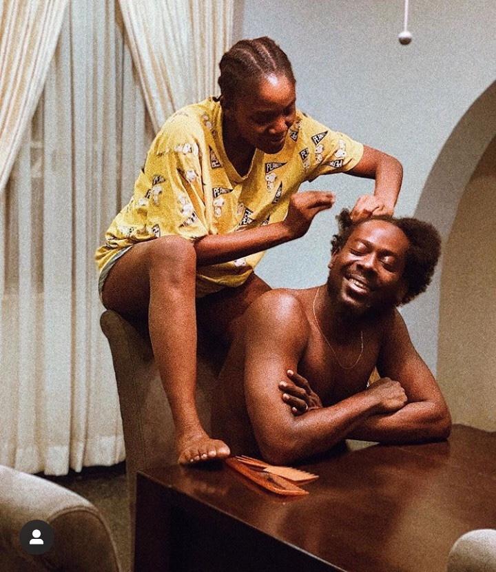 Adekunle Gold celebrates wife, Simi on their first wedding anniversary