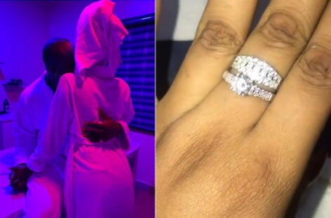 Harrysong and girlfriend Isioma are engaged (video)