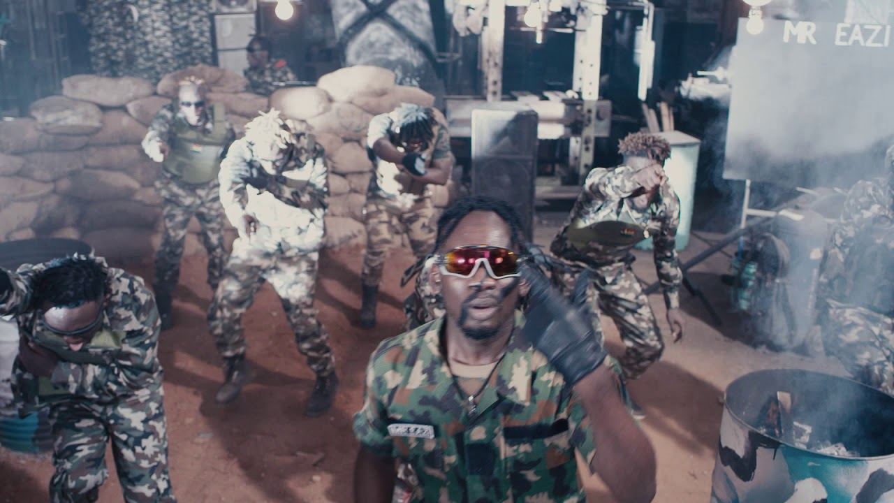"Mr Eazi goes military in brand new video christened ""Kpalanga"""