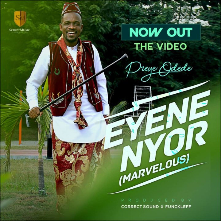 "Gospel music minister "" Preye Odede "" out with amazing visuals to "" Eyene Nyor """