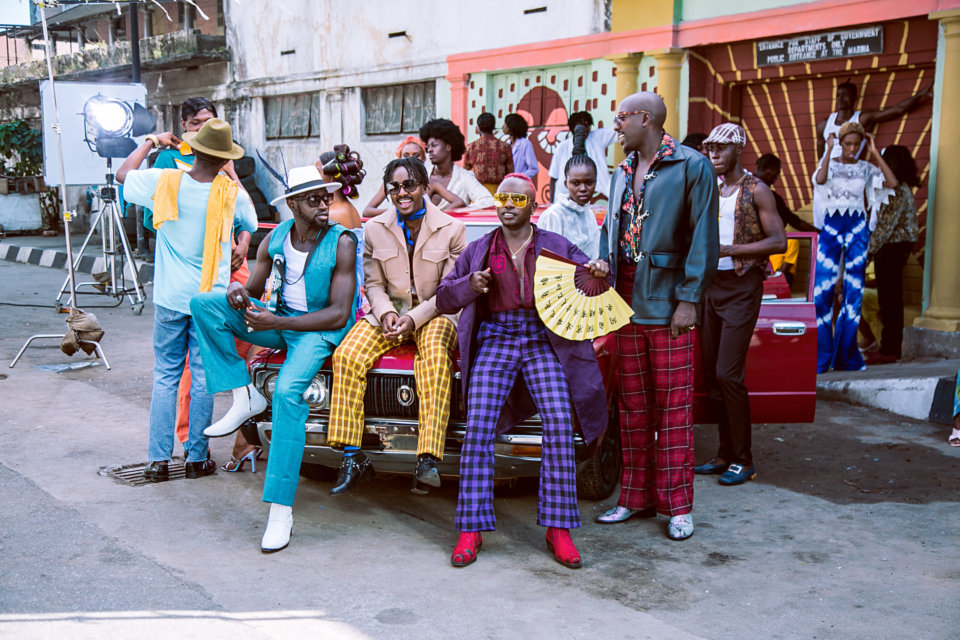 "Universal Music Group's recording artistes, Sauti Sol, surfaces in new video titled ""Suzanna."""