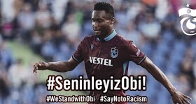 Turkey unites in solidarity with Nigeria's Mikel Obi in response to racist abuse