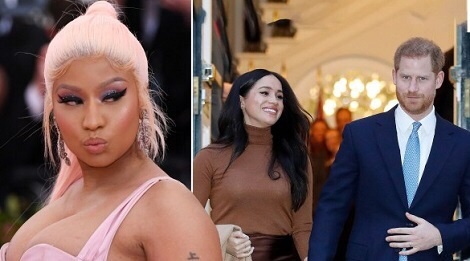 Nicki Minaj praises Prince Harry for quitting Royal family for Meghan Markle