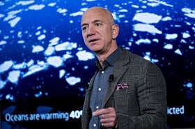 Jeff Bezos pledges $10,000,000,000 to fight climate change
