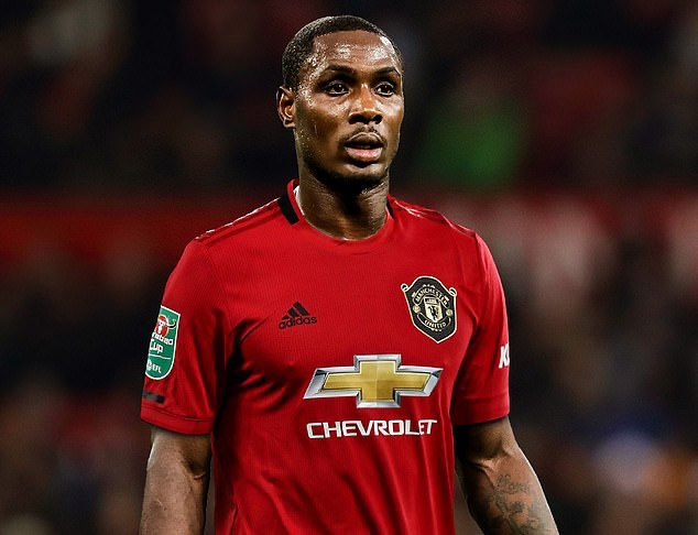 Ighalo makes first Europa League trip with Man United