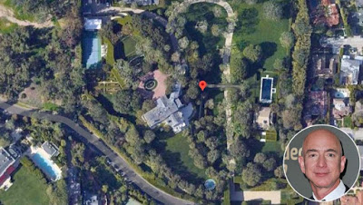 Jeff Bezos buys Beverly Hills mansion for record $165m