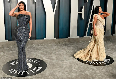 Kim Kardashian & Kylie Jenner battle for best dressed curves