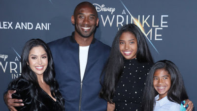 Kobe Bryant's death certificate reveals private funeral with Vanessa & family