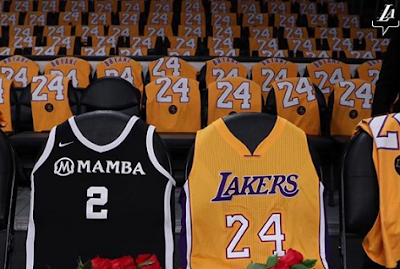 Vanessa Bryant posts instagram photo of empty seats in honor of husband Kobe and daughter Gianna