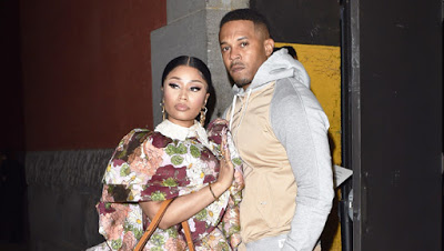 Nicki Minaj licks husband Kenneth Petty's lips in new video