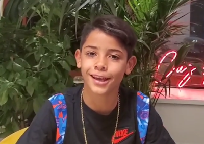 Cristiano Ronaldo's son has 992K instagram followers just a day after signing up