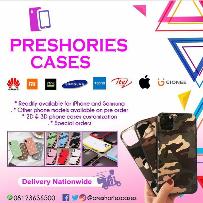 DJBADS: Order for your phone cases with Preshories Cases