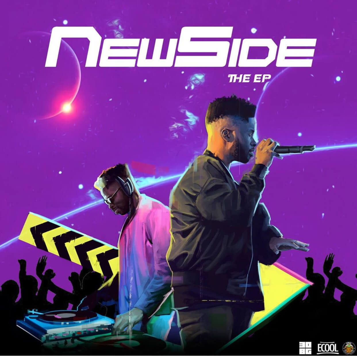 DJ Ecool serves us with the NewSide EP