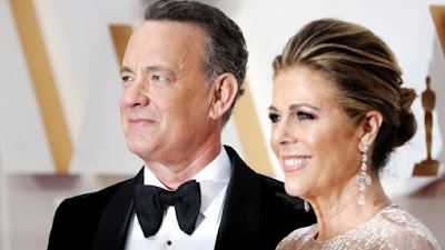 Hollywood actor Tom Hanks and wife test positive for coronavirus after visiting Australia