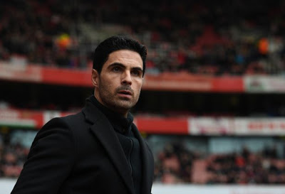 Arsenal manager, Mikel Arteta makes first public statement after positive test for virus