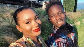 Mr.Eazi celebrates his beau, Temi Otedola on her birthday