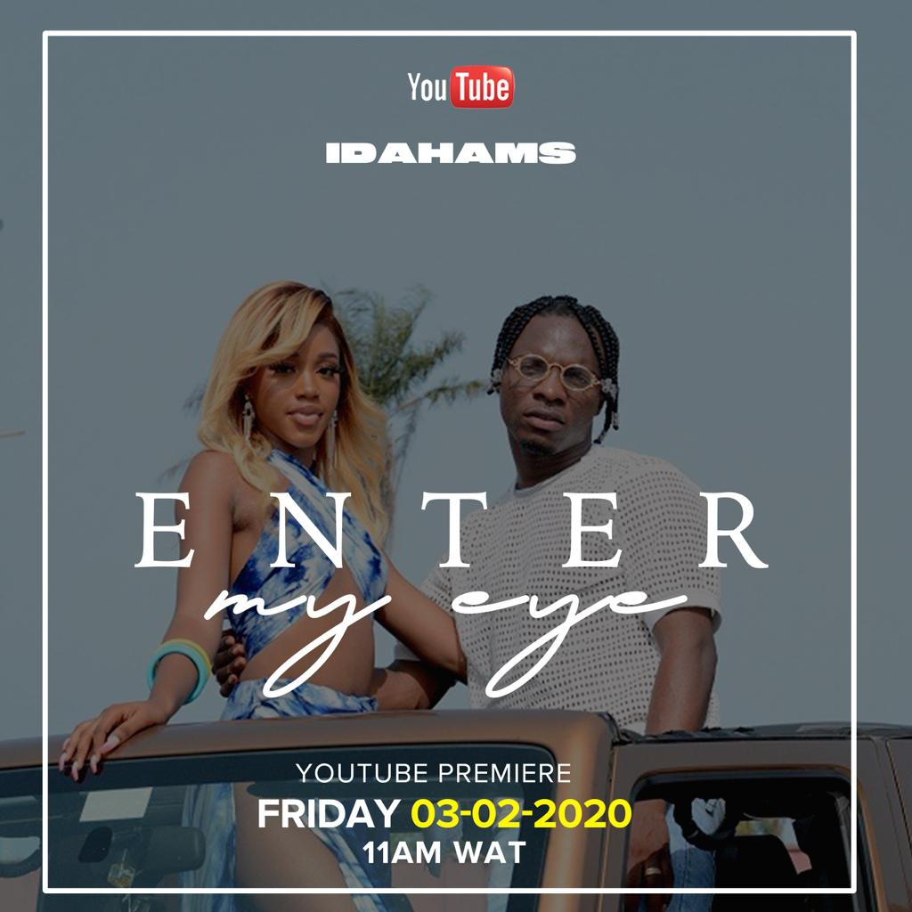 "Idahams dishes out the official music video of his love-themed tune titled ""Enter My Eye"