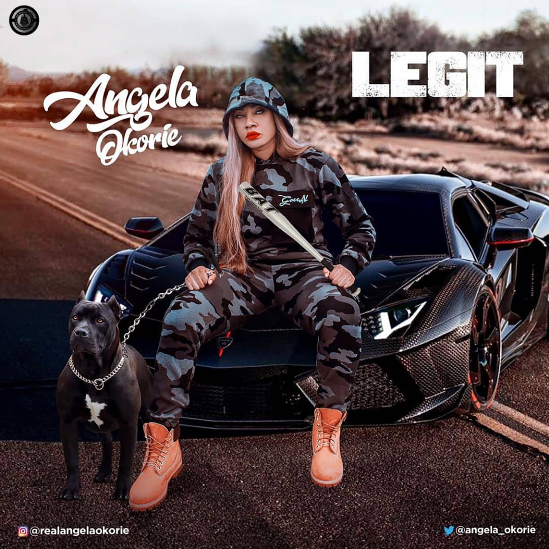 Angela Okorie serves us with another hot jam titled Legit