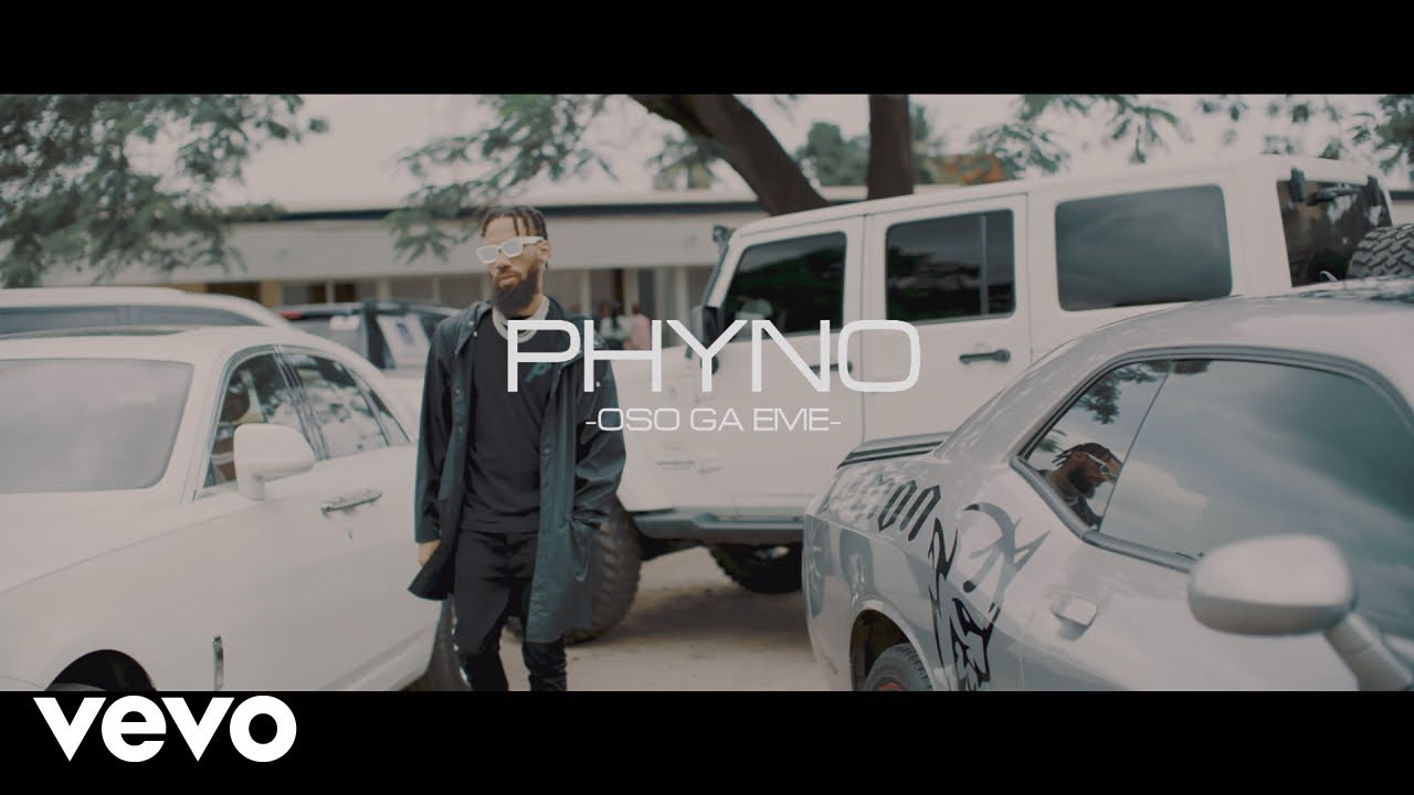 "Highly rated Nigerian rapper, Phyno releases music video for his rap record dubbed ""Oso Ga Eme."""
