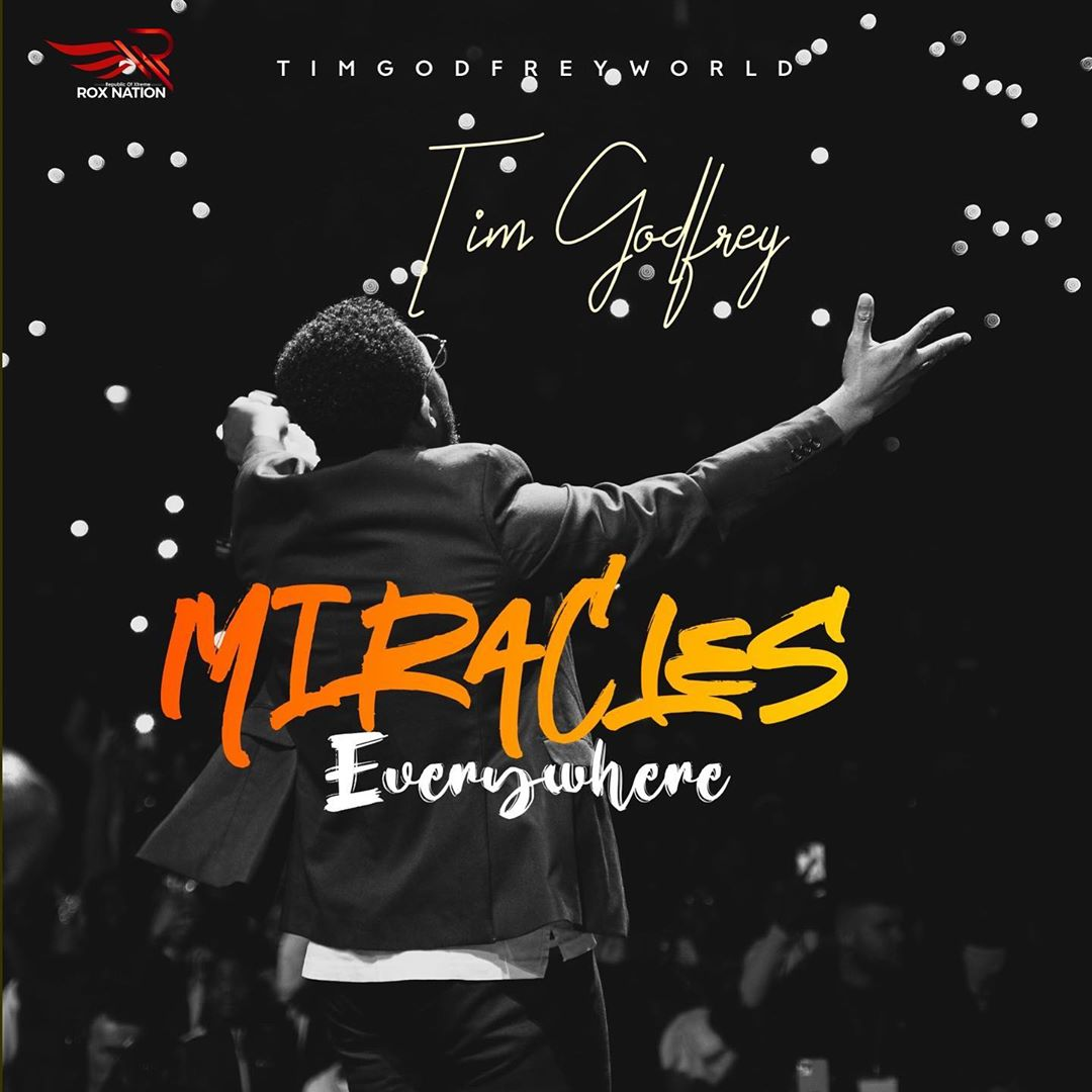 "Nigerian gospel artiste, Tim Godfrey drops new video titled ""Miracles Everywhere"""