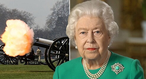 Queen Elizabeth cancels her birthday gun salute for the first time in 68 years