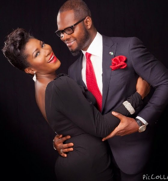 Stephanie Okereke-Linus and her husband celebrate 8th wedding anniversary