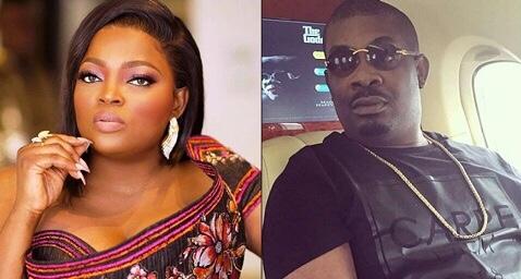 Don Jazzy writes Funke AKindele on her lockdown mistake