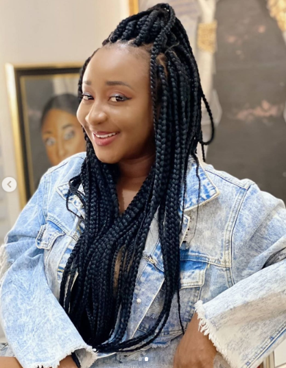 Ini Edo shares N300k to fans as she turns a year older