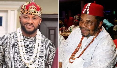 Yul Edochie praises his dad for beating him mercilessly when he wanted to quit school at JSS2