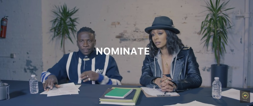 "Stonebwoy collaborates with American singer Keri Hilson on new jam titled ""Nominate"""