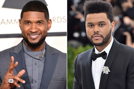 The Weeknd claims Usher copied his style in his hit song