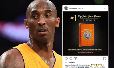 Kobe Bryant's posthumous book release becomes number one bestseller