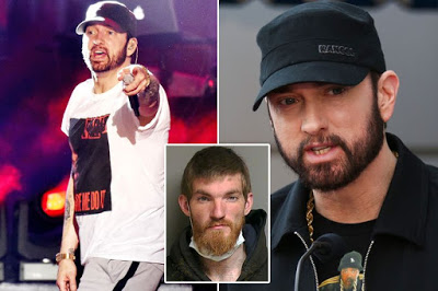 Eminem forced to confront home intruder who broke into his Detroit mansion [pictured]