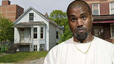 Kanye West buys his childhood home despite already torn apart
