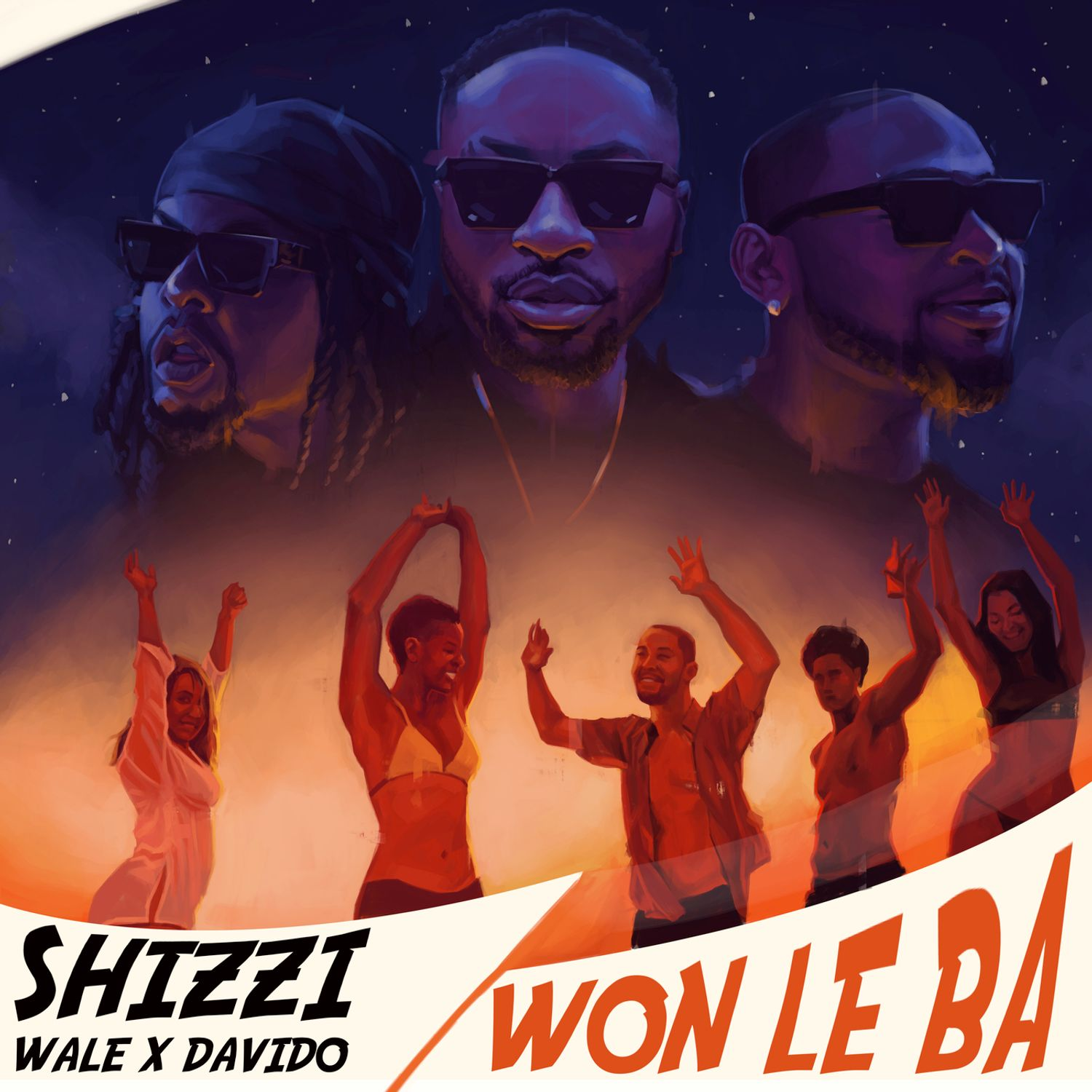 "Shizzi delivers new single, ""Won Le Ba"" featuring Davido and Wale"