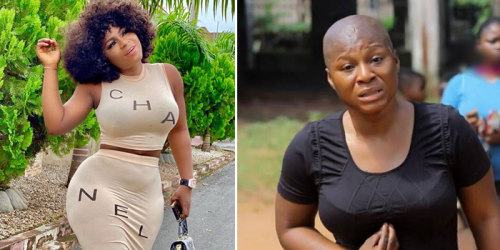 'I'm pained, heartbroken for losing my father,' Nollywood actress Destiny Etiko cries