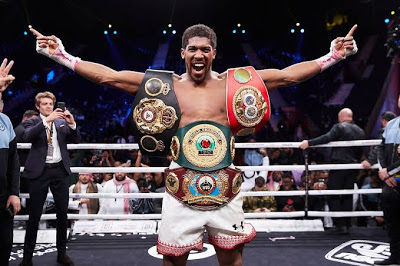 Anthony Joshua ranks second-richest sportsperson in UK (See full list)