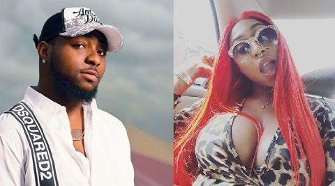 Davido offers Cynthia Morgan a helping hand