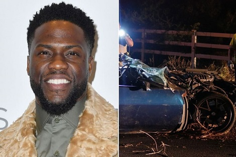 Kevin Hart admits he 'lied' about the severity of his injuries after horror crash