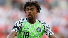 Alex Iwobi opens up on why he chose Nigeria over England