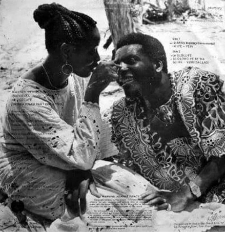 Lovebirds, Clarion Chukwura and Shina Peters in 1982