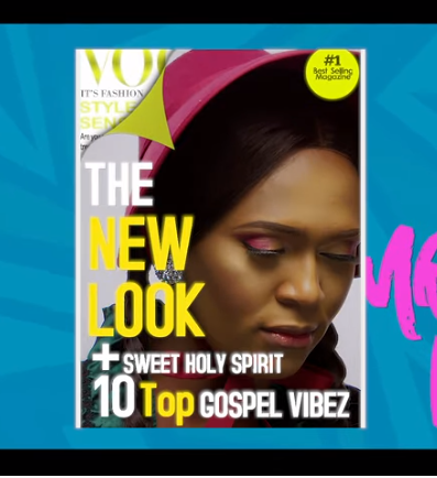 """Gospel Artist, Jahdiel releases the captivating colorful video for her hit single, """"Sweet Holy Spirit""""."""